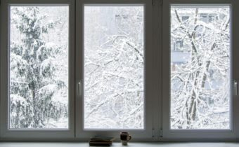 Windows in the winter time