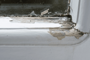 window wood rot, home improvement