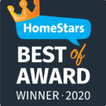 Best of Homestars 2020 Award Winner Long Life Windows & Doors