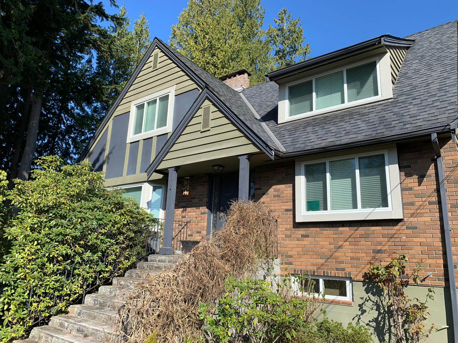 After - north van window replacement
